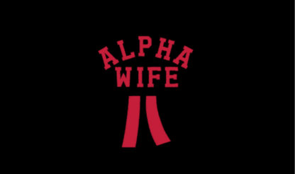 Wifey University Alpha Wife Ribbon Embellishment