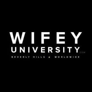 Wifey University Logo Poster