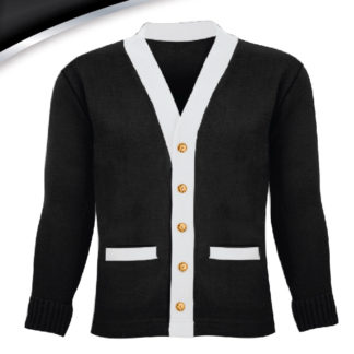 Wifey University Varsity Wifey Sweater Black and White Plain