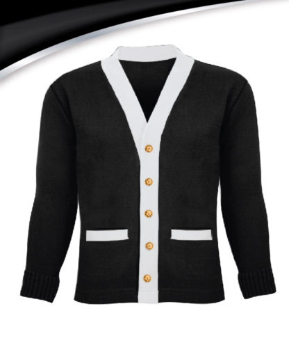 Wifey University Varsity Wifey Sweater Black and White Plain